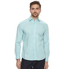 Men's Apt. 9® Slim-Fit Stretch Button-Down Shirt