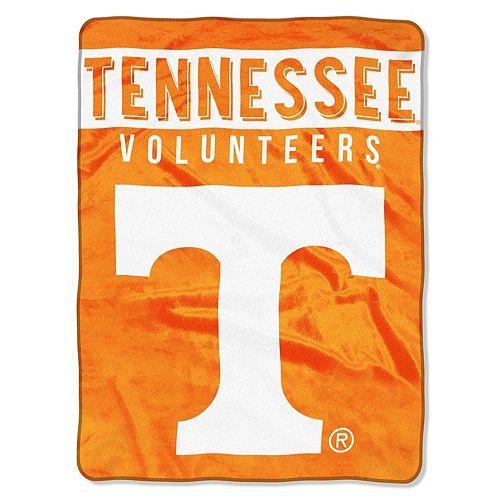 """Tennessee Volunteers 60"""" x 80"""" Raschel Throw Blanket"""