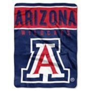 """Arizona Wildcats 60"""" x 80"""" Raschel Throw Blanket"""