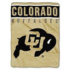 Colorado Buffaloes 60' x 80' Raschel Throw Blanket