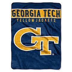Georgia Tech Yellow Jackets 60' x 80' Raschel Throw Blanket