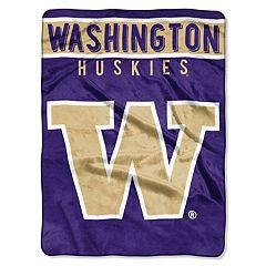 Washington Huskies 60' x 80' Raschel Throw Blanket