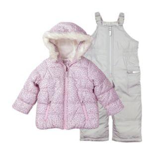 Girls 4-8 Carter's Jacket & Snowpants Set