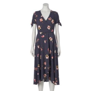 Women's LC Lauren Conrad Faux-Wrap Midi Dress