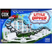CDX Blocks Brick Construction Little Dipper Roller Coaster Building Set