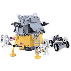 COBI Smithsonian Apollo 11 Lunar Module 380-Piece Construction Blocks Building Kit