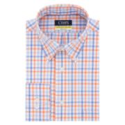 Men?s Chaps Regular Fit Comfort Stretch Button-Down Collar Dress Shirt