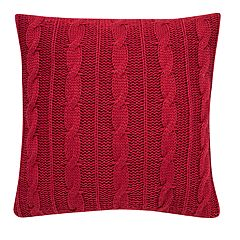 Cable Knit Sweater Throw Pillow