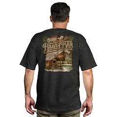 Men's Newport Blue 'Waterfront Oasis Beach Bar' Graphic Tee