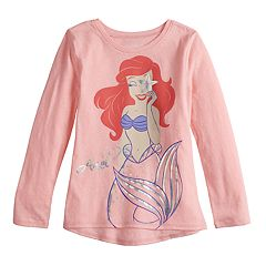 Disney's The Little Mermaid Ariel Girls 4-12 Foiled Graphic Tee by Jumping Beans®