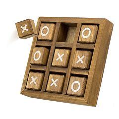 Nifty Wood Tic-Tac-Toe Game