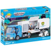 COBI Action Town Police Mobile Command Center 360-Piece Construction Blocks Building Kit