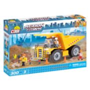 COBI Action Town Construction Big Tipper Dump Truck 300-Piece Construction Blocks Building Kit