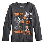 """Disney's Mickey Mouse Boys 4-12 """"Trick Or Treat"""" Softest Graphic Tee by Jumping Beans®"""