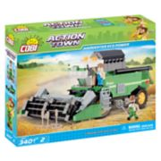COBI Action Town ECO Power Combine Harvester 350-Piece Construction Blocks Building Kit