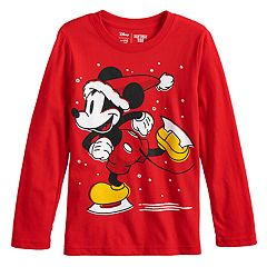disneys mickey mouse boys 4 12 skating mickey softest graphic tee by jumping beans