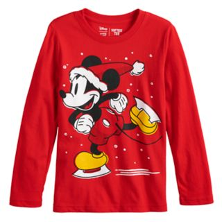 Disney's Mickey Mouse Boys 4-12 Skating Mickey Softest Graphic Tee by Jumping Beans®