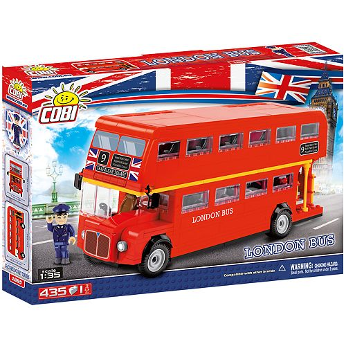 COBI Action Town London Bus 435-Piece Construction Blocks Building Kit