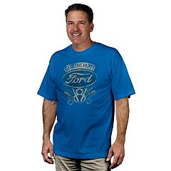 Men's Newport Blue Ford Graphic Tee