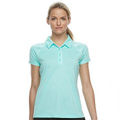 Women's FILA SPORT® Space-Dye Short Sleeve Golf Polo
