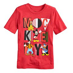 Disney's Mickey Mouse Boys 4-10 'Mickey' Block Letters Graphic Tee by Jumping Beans®