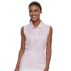 Women's FILA SPORT® Printed Sleeveless Polo
