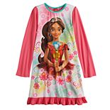 Disney's Elena of Avalor Girls 4-10 Knee Length Dorm Nightgown