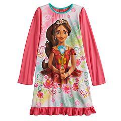 Disney's Elena of Avalor Girls 4-10 Knee Length Dorm Nightgown