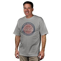 Men's Newport Blue Coca-Cola Graphic Tee