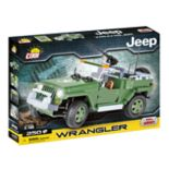 COBI Small Army Jeep Wrangler US Military 1/18 Scale 250-Piece Construction Blocks Building Kit