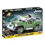 COBI Small Army Jeep Wrangler US Military 1/18 Scale 250-Piece Construction Blocks Building Kit