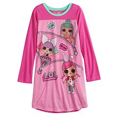 Girls 4-10 L.O.L. Surprise! Knee Length Dorm Nightgown