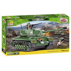 COBI Small Army M46 Patton Tank 520-Piece Construction Blocks Building Kit