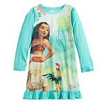 Disney's Moana Girls 4-10 Knee-Length Dorm Nightgown