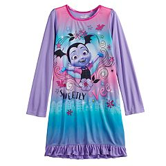 Disney's Vampirina Girls 4-10 Knee Length Dorm Nightgown