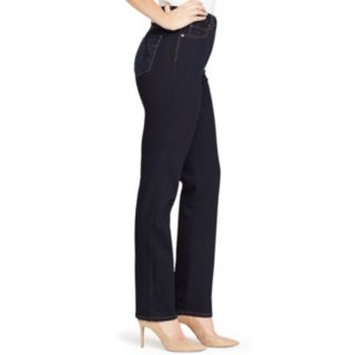 Women's Gloria Vanderbilt Amanda Embellished High-Waisted Tapered Jeans