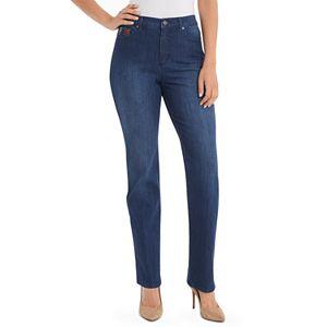 b53d9e3ad2f Sale.  34.99. Regular.  48.00. Women s Gloria Vanderbilt Amanda Embellished  High-Waisted Tapered Jeans