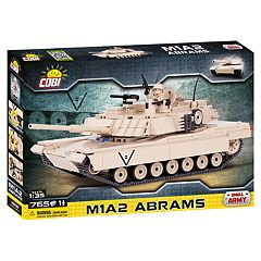 COBI Small Army M1A2 Abrams Tank 765-Piece Construction Blocks Building Kit