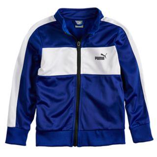Boys 4-7 PUMA Zip Tricot Track Jacket