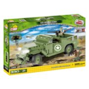 COBI Small Army World War II M3 Scout Car 330-Piece Construction Blocks Building Kit