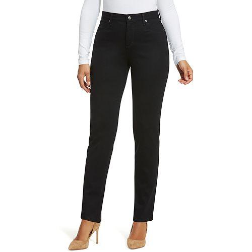 2d5307efe237a Women s Gloria Vanderbilt Amanda Slimming High-Waisted Ponte Pants