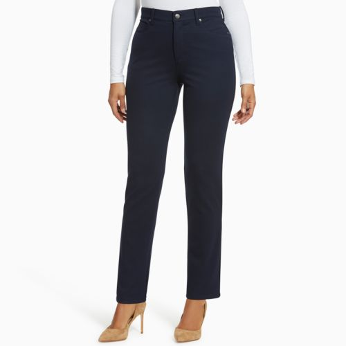 Women's Gloria Vanderbilt Amanda Slimming High Waisted Ponte Pants by Kohl's