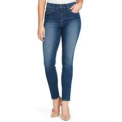 Women's Gloria Vanderbilt Comfort Curvy MidRise Slim Fit Jeans