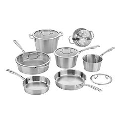Cuisinart Conical Induction 11-piece Stainless Steel Cookware Set