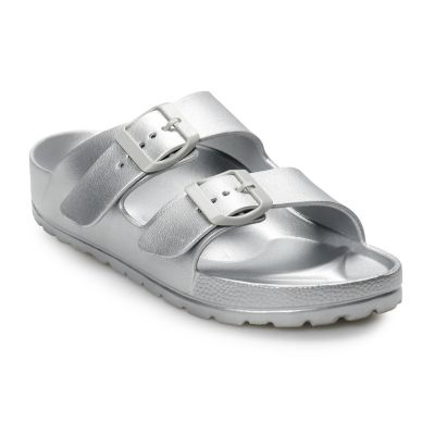 Women's Mudd® Molded Double Strap Sandals