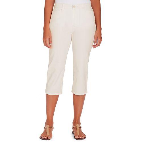 Women's Gloria Vanderbilt  Amanda High-Waisted Trouser Capris