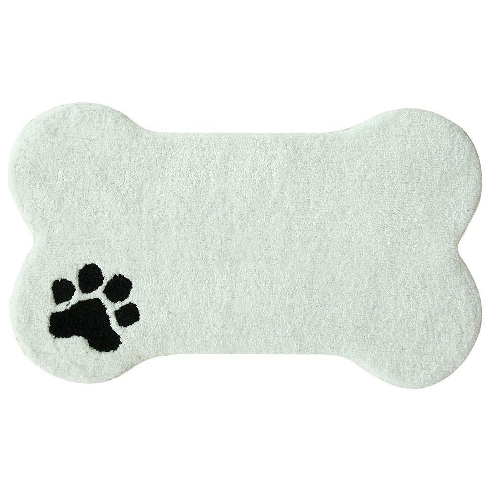 Bacova Guild Dog Bone Bath Rug