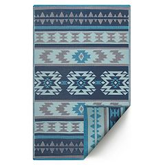 Fab Habitat Cusco Geometric Boho Indoor Outdoor Rug