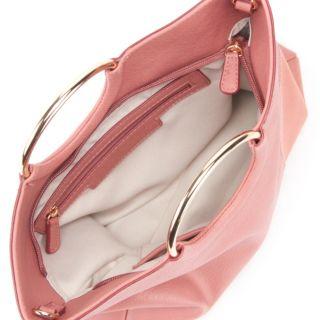 LC Lauren Conrad O-Ring Heart Convertible Crossbody Bag