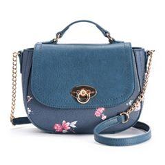 LC Lauren Conrad Perle Floral Crossbody Bag